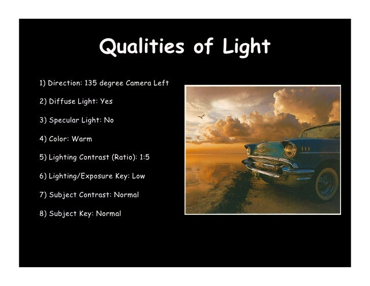 ... 38.  sc 1 st  SlideShare & The Qualities of Light