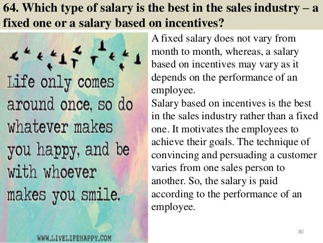 126 Sales Interview Questions And Answers