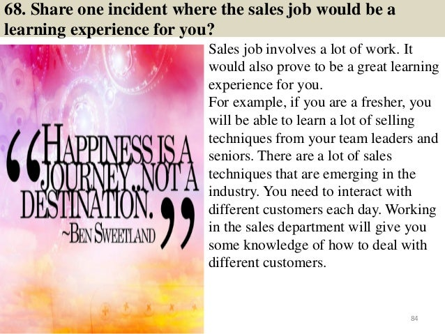 126 sales interview questions and answers pdf ebook free ...