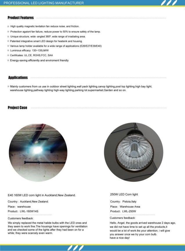 Led Light Manufacturer Catalog