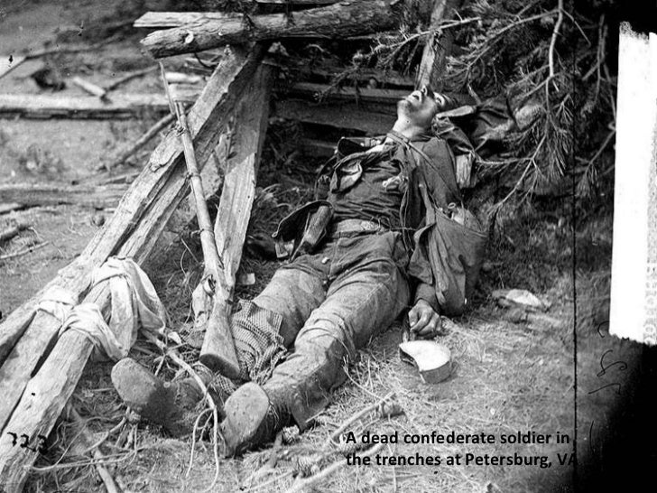 150 year old civil war photos a dead confederate soldier in the trenches at petersburg va thecheapjerseys Choice Image