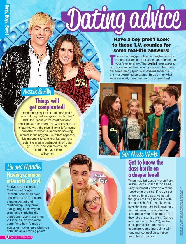 Who is lucas from girl meets world dating in real life