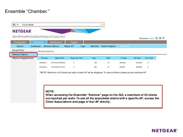 Webinar NETGEAR - Nuovi AP Professionali Prosafe WAC720 e WAC730