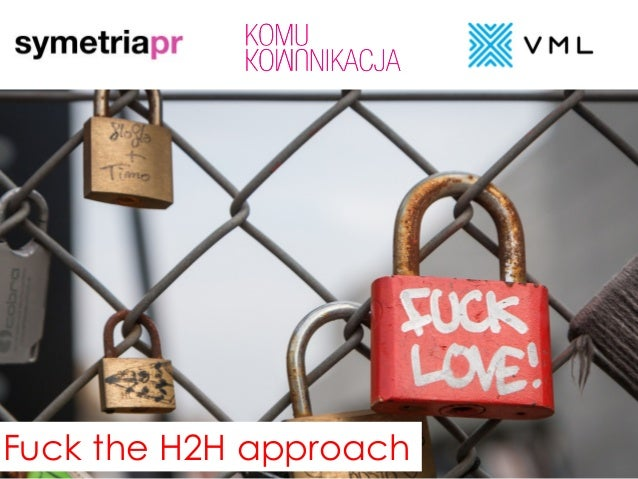 Public RELATIONS dziś Fuck the H2H approach