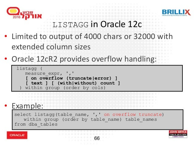 Oracle Database Advanced Querying (2016)