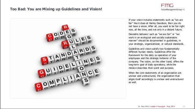 mission statements may play an important Read this to see what your mission statement should equally important, the mission statement signals what your what roles do you and your employees play.
