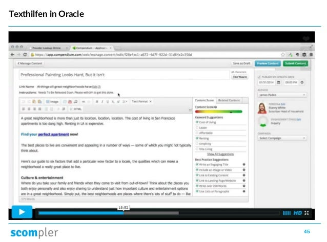 45 Texthilfen in Oracle