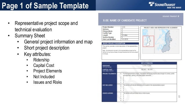 Sound Transit 3 Candidate Project Templates