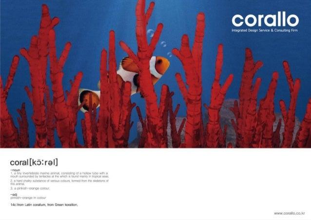 2015 CORALLO DESIGN PORTFOLIO