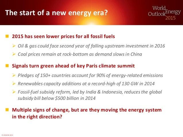 World Energy Outlook 2015: Presentation to Press Slide 2
