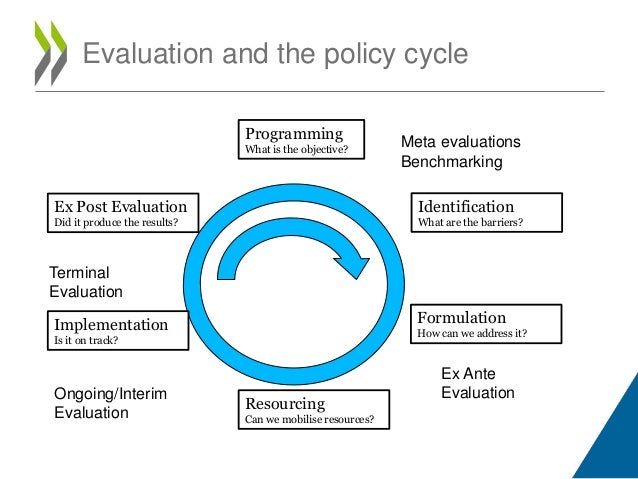 stages of the policy cycle