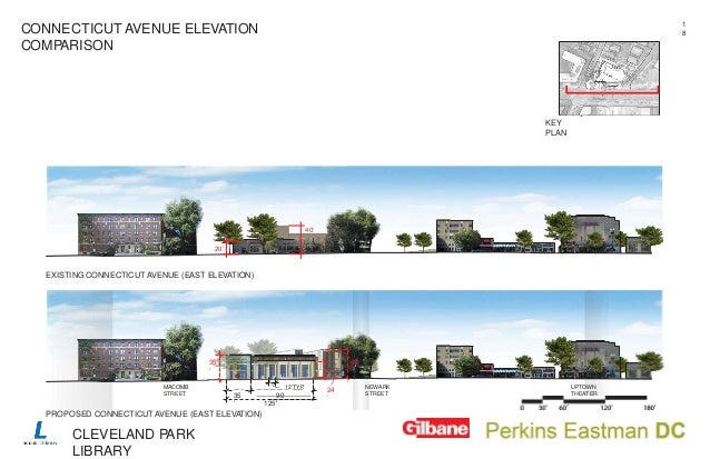 Elevation Plan Ne Demek : Cleveland park library anc presentation november