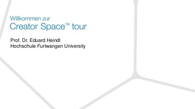 Prof. Dr. Eduard Heindl Hochschule Furtwangen University