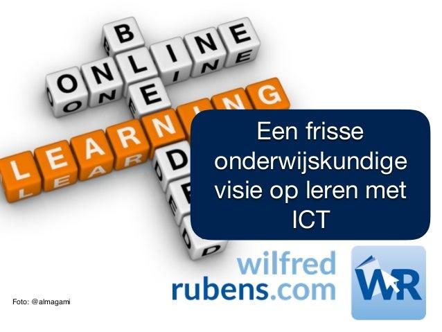 Foto: @almagami Een frisse onderwijskundige visie op leren met ICT
