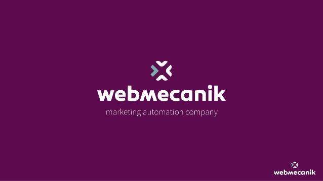 Pierre Ammeloot CTO @Webmecanik Editeur de logiciel pour le marketing Automation. En chiffres : 〉 9 ans d'existence 〉 12 s...