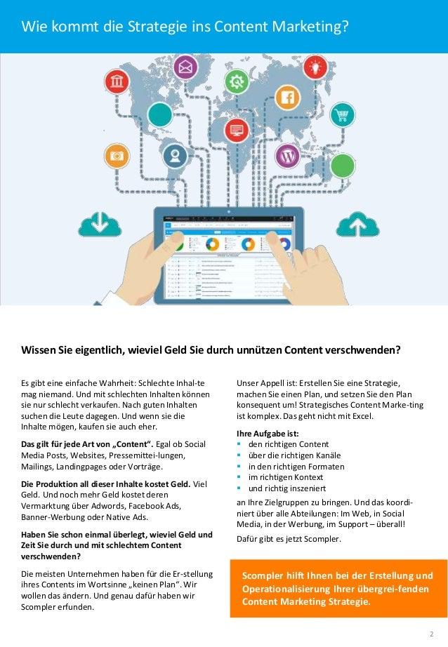 Content Marketing. Strategisch gedacht. Perfekt organisiert (Langversion). Slide 2