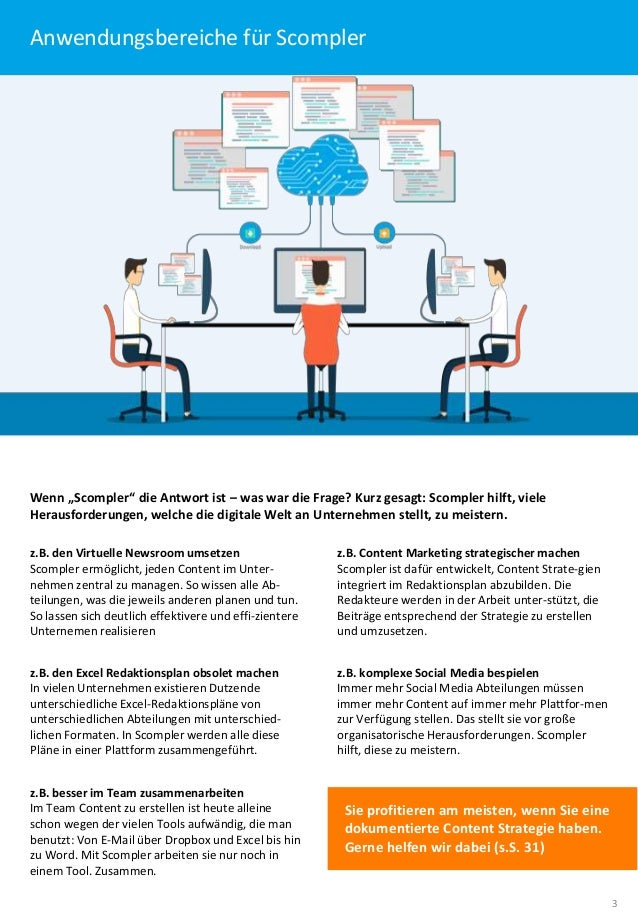 Content Marketing. Strategisch gedacht. Perfekt organisiert (Langversion). Slide 3