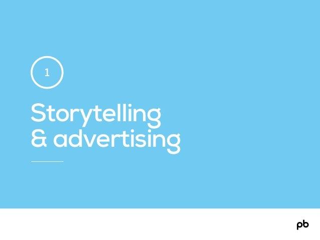 Storytelling & advertising 1