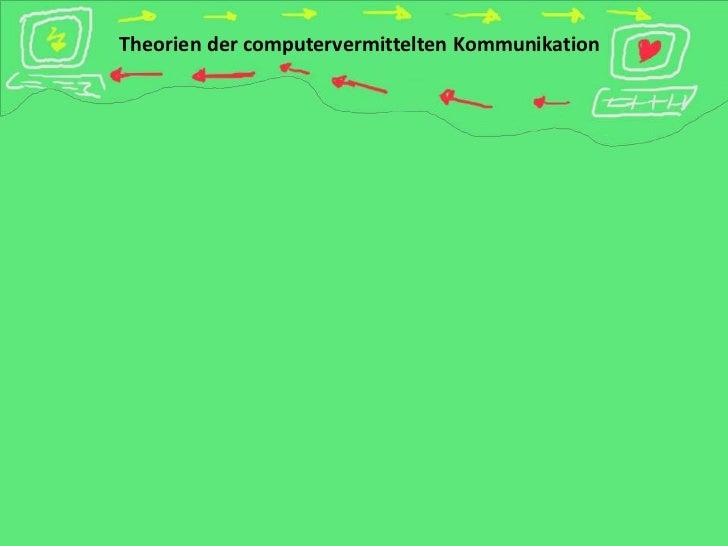 Theorien der computervermittelten Kommunikation