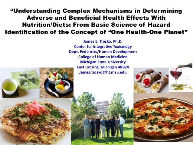 """""""Understanding Complex Mechanisms in Determining Adverse and Beneficial Health Effects With Nutrition/Diets: From Basic Sc..."""