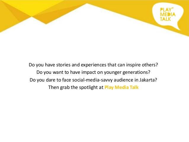 Play Media Talk - Invitation to Speak Slide 2