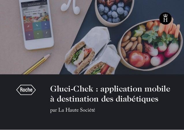 Gluci-Chek : application mobile à destination des diabétiques par La Haute Société