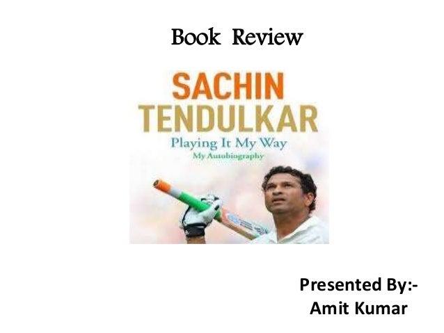 Tendulkar Biography Book