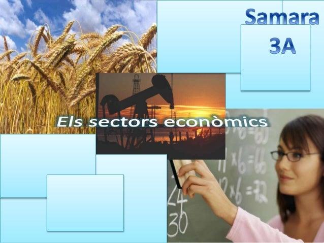 Pg.16 Pg.12 Pg.8 Pg.5 pg.4 Què són els sectors econòmics? Sector primari L'agricultura La ramaderia Sector secundari sider...