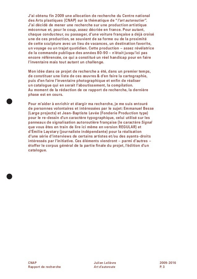 ART D'AUTOROUTE JULIEN LELIÈVRE Slide 3