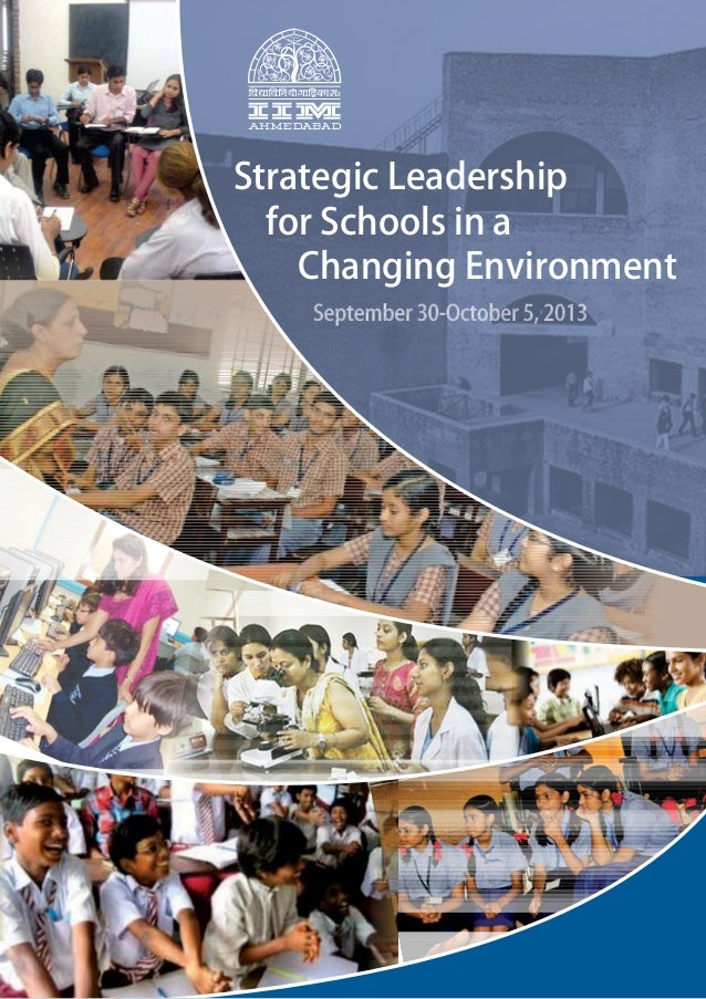 Strategic Leadership for Schools in a Changing Environment