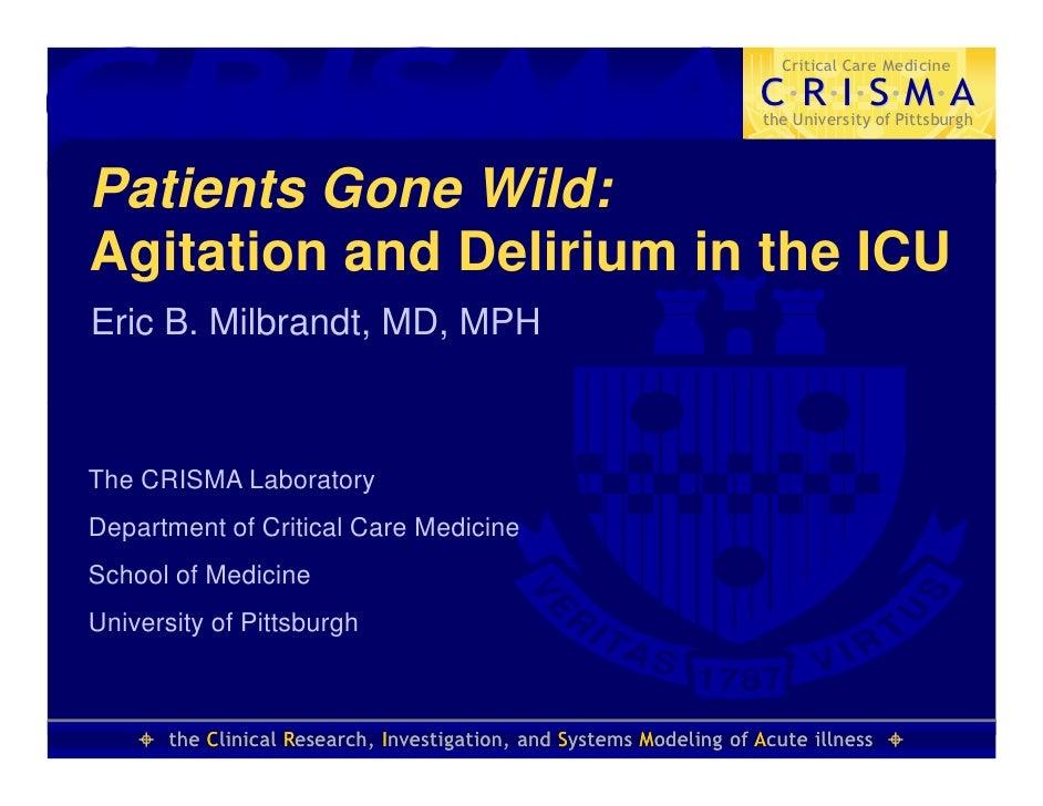CRISMA                                                                         Critical Care Medicine                     ...