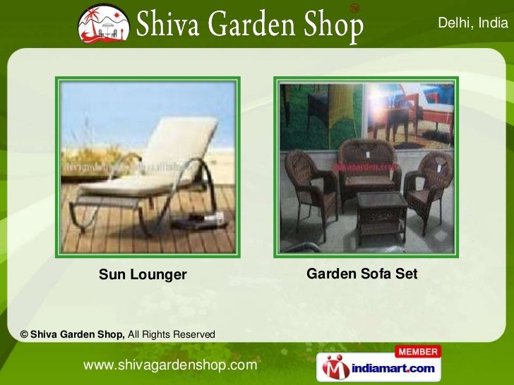 8e56935bec76 Garden Furniture And Accessories by Shiva Garden Shop New Delhi