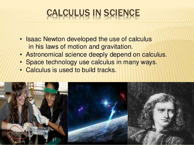 Computer Science Is To Biology What Calc By Harold: Application Of Real Life In Calculus