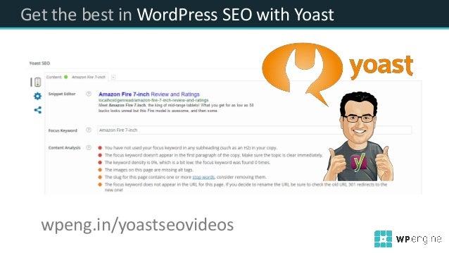 Get the best in WordPress SEO with Yoast wpeng.in/yoastseovideos