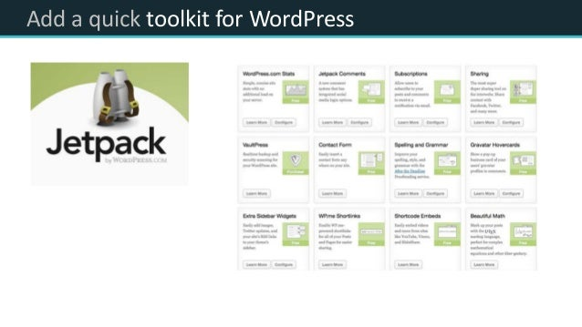 Add a quick toolkit for WordPress