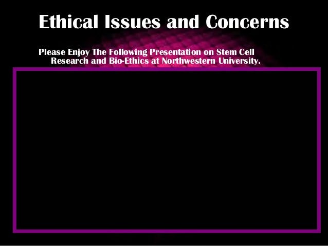 A research on the ethical treatment of stem cells