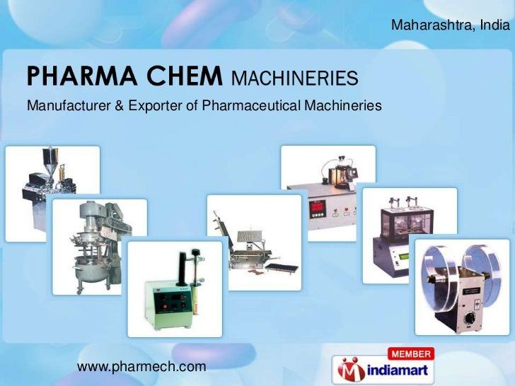 Maharashtra, India <br />Manufacturer & Exporter of Pharmaceutical Machineries<br />