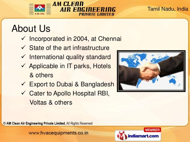 Air Filters by AM Clean Air Engineering Private Limited Chennai Slide 2