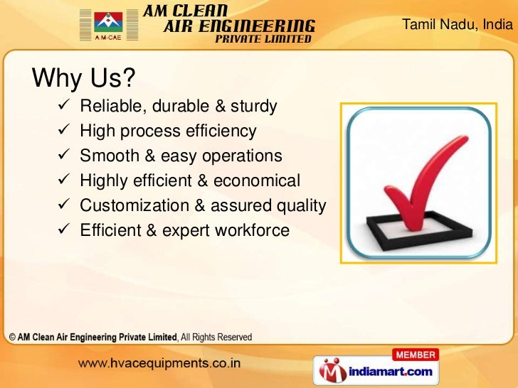 Air Filters by AM Clean Air Engineering Private Limited Chennai Slide 3