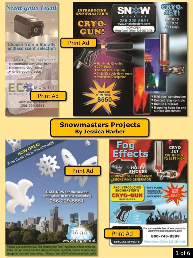 Snowmasters Projects By Jessica Harber Print Ad Print Ad Print Ad Print Ad 1 of 6