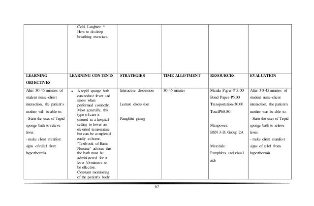 nursing care plan for hernia pdf