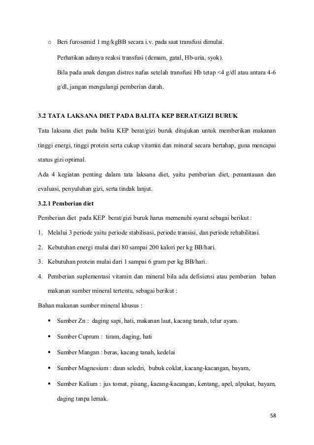 MASALAH GIZI BURUK KURANG ENERGI PROTEIN - PowerPoint PPT Presentation