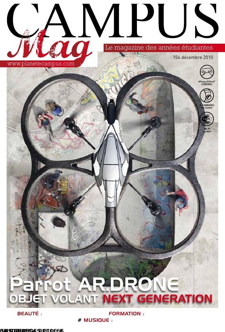 Le magazine des années étudiantes                                                            154 décembre 2010www.planetec...