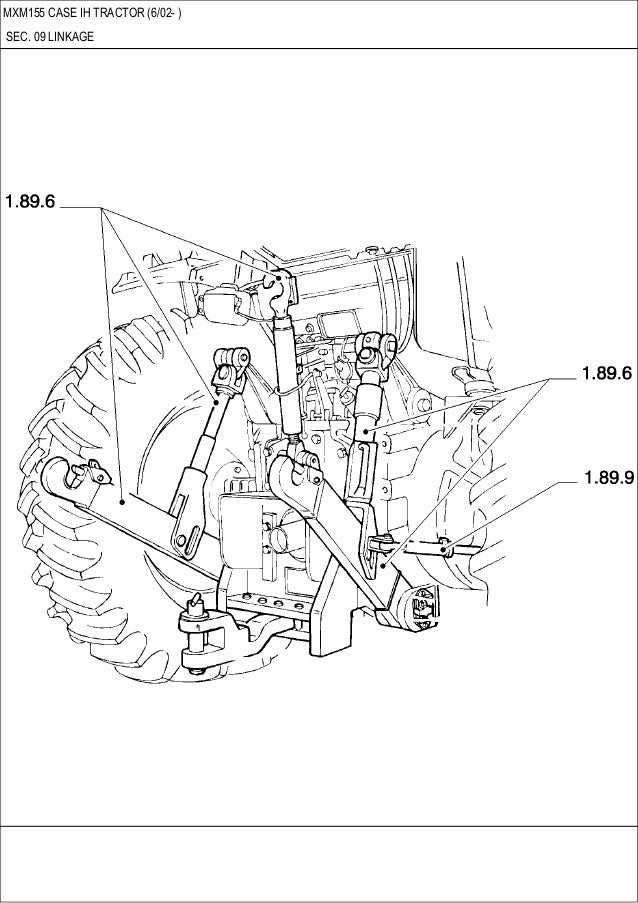 Mxm 115 Case Ih Tractor Pars Catalog