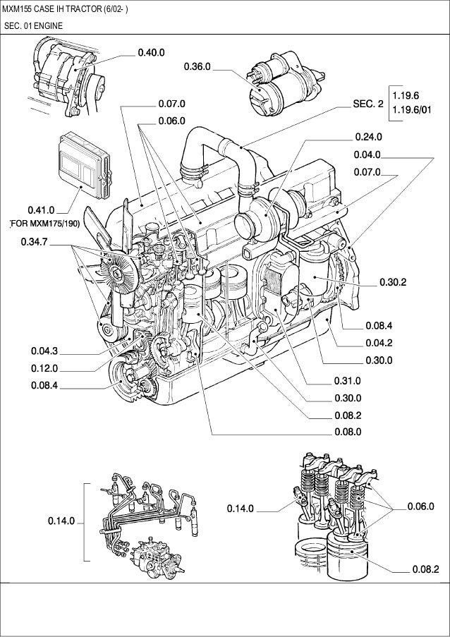 Fine Mxm 115 Case Ih Tractor Pars Catalog Wiring Digital Resources Pelapshebarightsorg