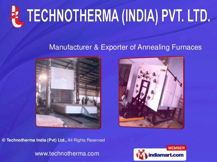 Manufacturer & Exporter of Annealing Furnaces<br />