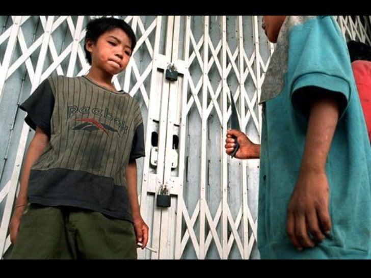 Social enterprise for street children - Sebastien Marot