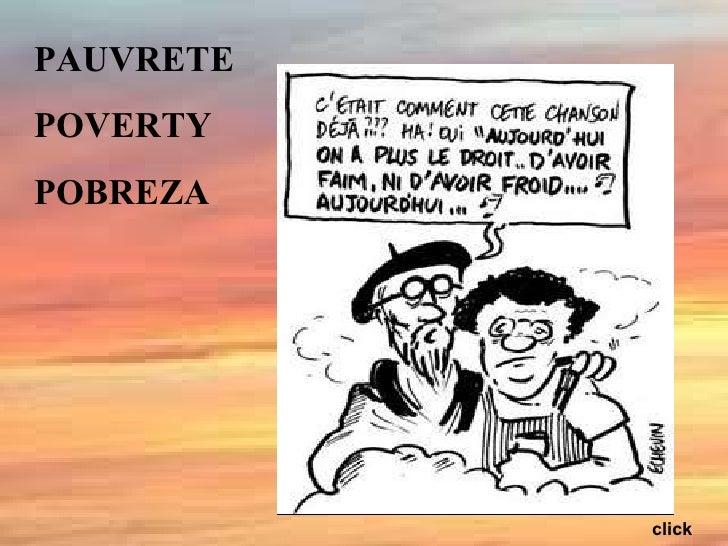 PAUVRETE POVERTY POBREZA click