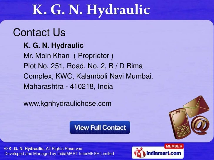 Customized range of solutions