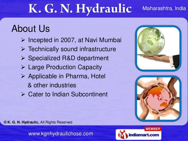 About Us<br /><ul><li>Incepted in 2007, at Navi Mumbai